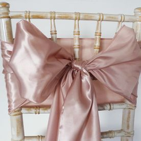 Taffeta Sash, Chair Bow